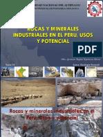 Clase 14 Rocas y Minerales Industriales del Peru