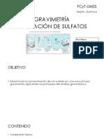 Practica 3 Gravimetria Determinacion de Sulfatos