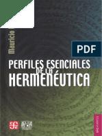 Beuchot, Mauricio. - Perfiles esenciales de la Hermeneutica [2008] [2011] (1) (1)