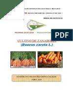 Manual de Cultivo de Zanahoria