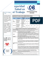 Matriz Epp Covid-19 en Laboratorio Clínico