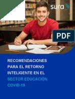 MODELO SURA PROTOCOLO SECTOR EDUCACION EN GENERAL