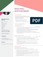 rachel astheimer resume