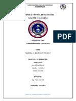 MANUAL DE PROJECT PDF