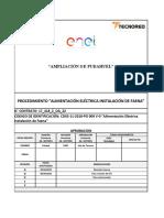 CDXS-11-2018-PO 009 V-A Alimentación Eléctrica II.FF