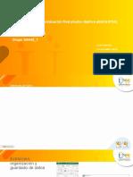 Fase 5 - Desarrollar evaluación final Prueba Objetiva Abierta (POA)