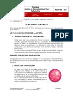 teoria y modelos atomicos