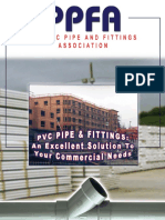 PVC Pipe and fittings - An excellent solution for your commercial needs (PPFA)