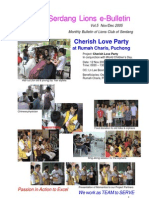 Serdang Lions e-Bulletin - Vol. 5 - Nov/Dec 2005