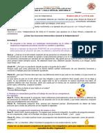 Ficha N°1 Online Unidad II Historia 6°