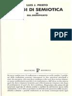 Prieto_Saggi di semiotica