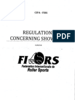 2011 Regulations Concerning SHOW
