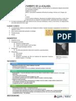 R - Diagnóstico y tratamiento de la acalasia.