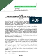 DECRETO Nº009-01-2011