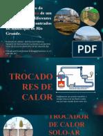 Estudo numérico do Potencial Térmico de um TCSA em dois diferentes tipos de solo encontrados no município de Rio Grande.