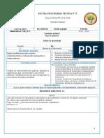 Planeacion 3er Secundaria Matematicas Tema 5 ( planes 2011)