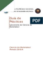 Guia de prácticas de laboratorio Ciencia Materiales Básica