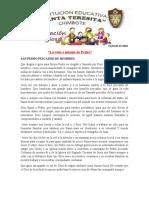VIDA Y MISION DE SAN PEDRO