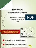 PLAGUICIDAS COLINESTERASAS