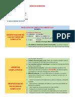 TAREA 06 RESOLUCION DE CONFLICTOS AMBIENTALES