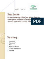 Solidity Trade Shea Butter Information