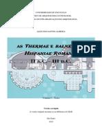 As 'thermae' e 'balnea' nas 'Hispaniae Romanae' II A.C. - III D.C.