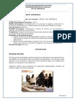 GUIA DE ORGANIZAR EVENTOS