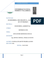 ESTACIONES METEOROLOGICAS - INFORME 2
