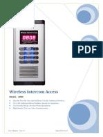 200A Wireless Intercome Access User Manual En_v1.4.pdf