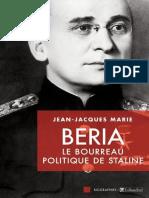 Beria _ Le bourreau politique d - Marie,Jean-Jacques