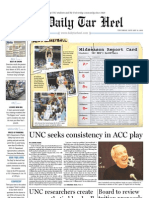 The Daily Tar Heel for January 13, 2011