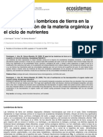 Dominguez Et Al 2009_El Papel de Las Lombrices de Tierra