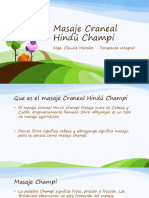 Masaje Craneal Hindú Champi