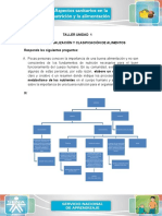 Conceptualización y clasificación de alimentos taller 1