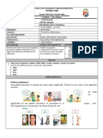GUIA Nª 1 PALABRAS POLISEMICAS