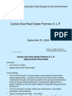 Carlyle Asia Real Estate Partners II, L.P.