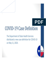 COVID Reporting New Guidance