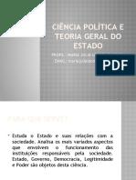 AULA 1 - Introdução à ciência política (1)
