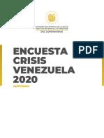 Encuesta - Crisis Venezuela - 01Julio