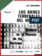 01894- LOS BIENES TERRENALES DEL HOMBRE - Huberman, Leo.pdf
