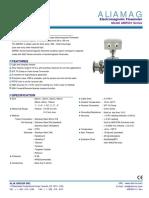 Alia AMF601 Sanitary Flowmeter