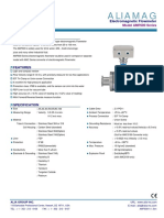 Alia AMF600 Sanitary Flowmeter