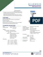 Alia AMF301 Electromagnetic Flowmeter