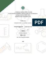Alvarado D Tarea N°1 Quimica para ing. civil