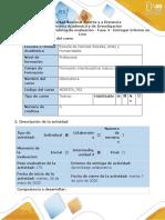 Guía de actividades y rúbrica de evaluación - Fase 4 - Entregar informe en Lino.docx