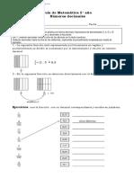 5° año  -  Matemática  -  GUIA N° 5 -   Decimales