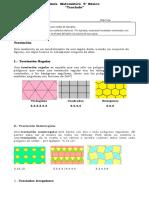 6° año  -  Matemática  -  Guía   -   Teselación