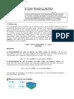 8° año  -  Matemática  -  GUIA N°6 -  Ley de Laplace y principio multiplicativo
