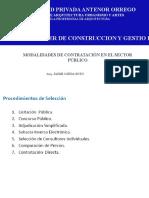 Contratacion en sector público