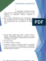Estrategias de comprensión y producción de textos